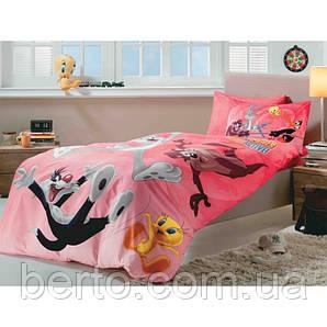Постельное белье Tac Disney - Looney Tunes Active  160*220 подростковое