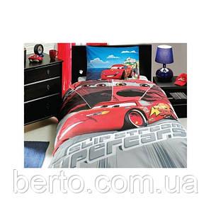Постельное белье Tac Disney - Cars Face Movie  160*220 подростковое