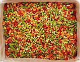 """Суміш """"Мексиканська"""" ( морква, перець червоний, квасоля стручкова, горох, кукурудза) заморожена, фото 2"""