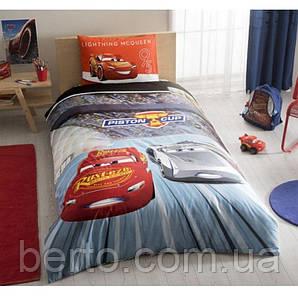 Постельное белье Tac Disney -Cars 3 160*220 подростковое на резинке