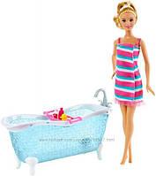 Набор мебели с куклой Барби Гламурная ванная