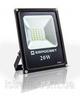 Прожектор ES-20-01 95-265V 6400K 1100Lm SMD ECO