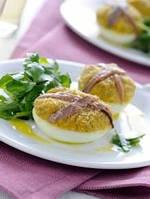 Гратировани фаршированные яйца