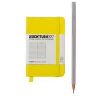 Блокнот Leuchtturm1917 Маленький Лимонный в Линейку (7х11 см) (344977), фото 1