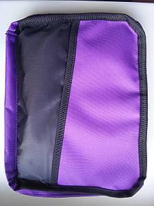 Чохол для Біблії (фіолетовий) Розмір: 18Х25,5 см (077)