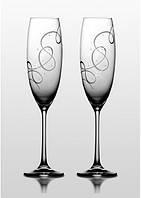 Grandioso набор бокалов для шампанского (Compliment SWAROVSKI) 2 шт.