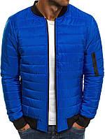 Куртка стеганная, синий