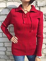 Свитер женский Турция красный