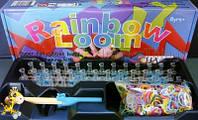 Набор резинок для плетения Rainbow Loom оригинал с профессиональным станком