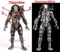 Підробка за ціною оригіналу. Фальшиві фігурки NECA Predator 30th, Хижак 30 річницця