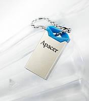 Флешка Flash Apacer AH111 8Gb blue, USB флеш-накопитель AH111 8Gb