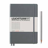 Блокнот Leuchtturm1917 Средний (A5) Антрацит В точку (14,5х21 см) (344784), фото 1