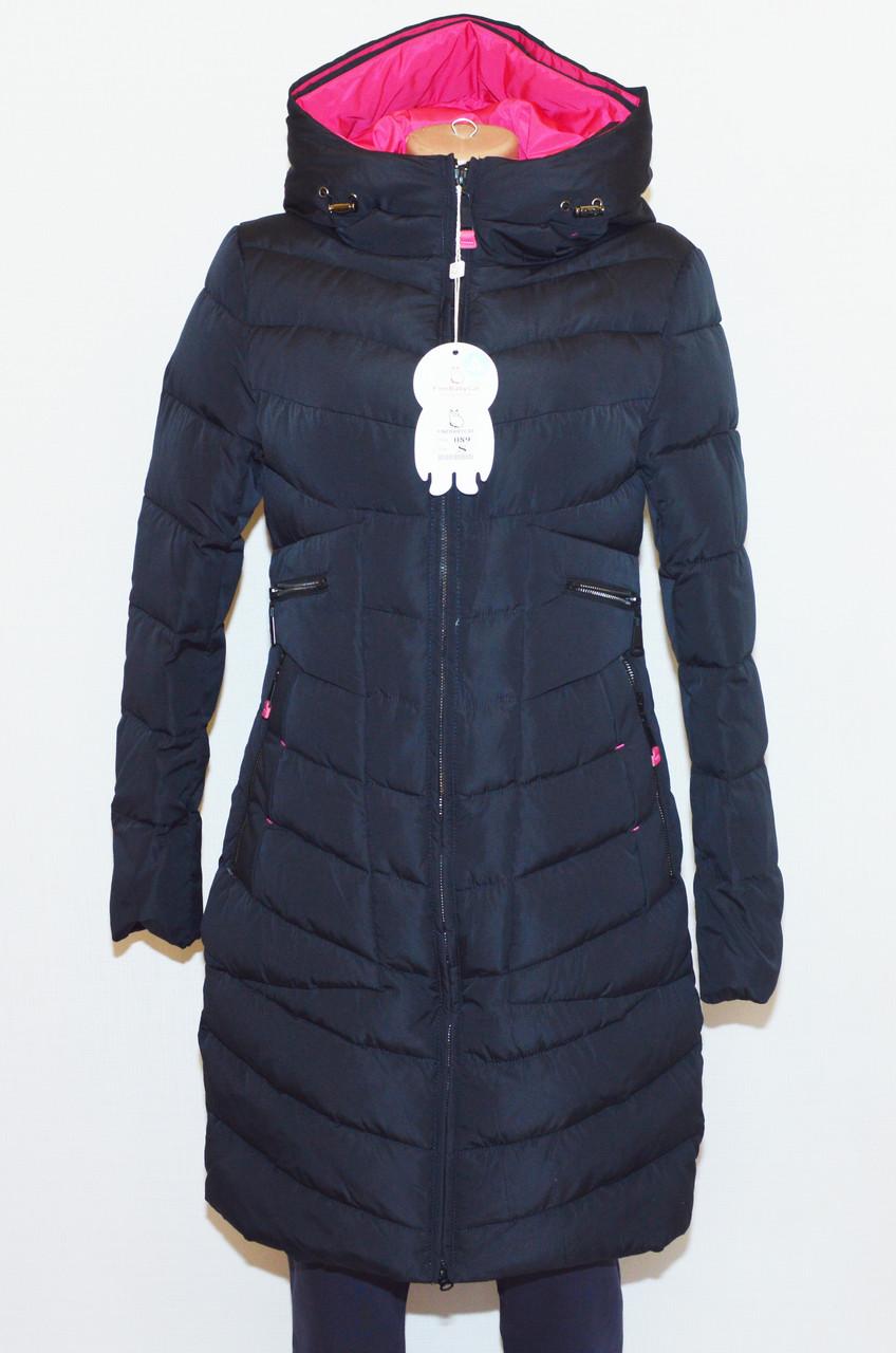 Куртка женская зимняя FINEBABYCAT|089| с капюшоном