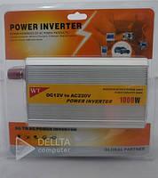Инвертор DC-1000W, 12 В, 220В, Частота 50, Преобразователь напряжения DC-1000W