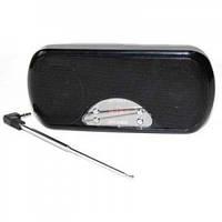 Портативная MP3 колонка USB плеер FM AT-6525 Black