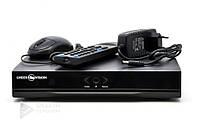 Гибридный видеорегистратор AHD Green Vision GV-S-030/04 1080P, VGA, HDMI, Linux, 4*AHD-L, 12V 2A, 2* USB 2.0, RJ45 10M/100M, Система видеонаблюдения