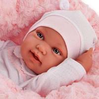 Кукла-младенец Пиппа в одеялке, 42 см Antonio Juan AJ5006