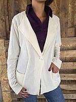 Пиджак женский белый