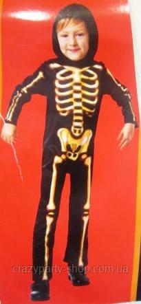 Карнавальный костюм Скелет 10-11 лет