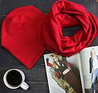 Комплект I&M Craft шапка+шарф красный (090205)