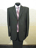 Мужской классический костюм оливкового цвета - РАСПРОДАЖА