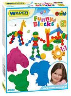 Конструктор Wader Funny block (41830)