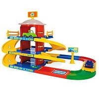 Игровой набор Паркинг 3 уровня Wader Kid Cars (53040)