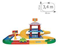 Игровой набор Паркинг 2 уровня Wader Kid Cars (53020)