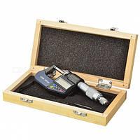 DSWQ0-100II микрометр цифровой 0-25мм профессиональный в кейсе