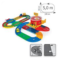 Игровой набор Вокзал с дорогой Wader Kid Cars (51792)