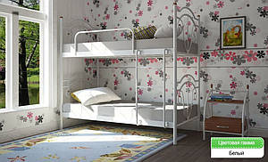 Двухъярусная кровать Металл-Дизайн Диана 800-900х1900-2000 мм