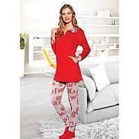 Домашняя одежда Lady Lingerie - Велюровый костюм 15595 XL