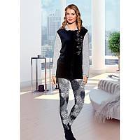 Домашняя одежда Lady Lingerie - Велюровый костюм 15585 XL