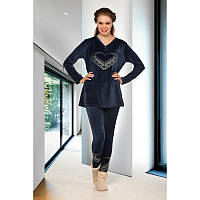 Домашняя одежда Lady Lingerie - Велюровый костюм 15430 L