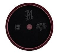 Мeguiar's WRFC7 Rotary Foam Cutting Pad 7'' Роторный поролоновый круг жесткий бордовый, 17,8 см., фото 1