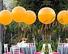 Украшение праздника шарами-гигантами