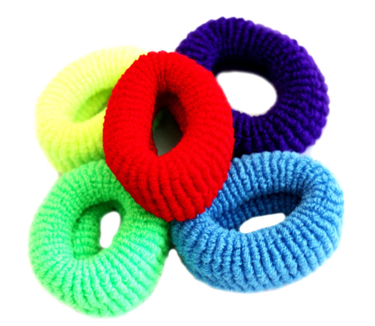 Резинки для волос (12шт) цветные