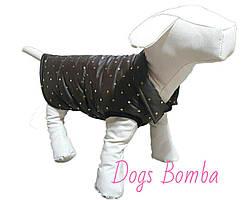 Куртки для собак коричневая