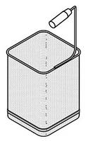 Корзина для макароноварки Bertos CS1/6 DX