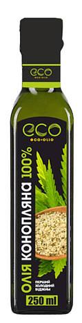 Конопляное масло, EcoOlio, 250 мл, фото 2