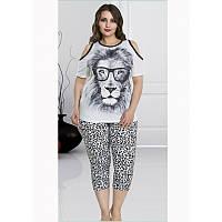 Домашняя одежда Lady Lingerie - 220 2XL футболка и лосины