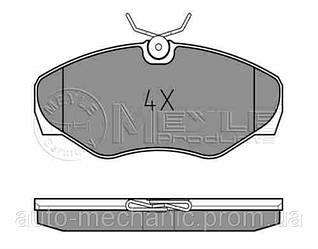 Гальмівні колодки передні на Renault Trafic 2001-> — т колодок гальмівних передніх (Німеччина) - 0252309918
