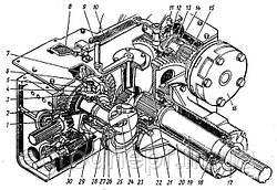 Задний мост трактора ЮМЗ-6