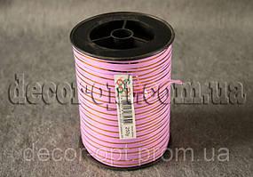 Лента розовая 0,5см/250ярд