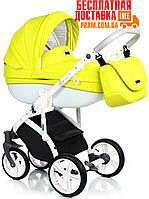 Универсальная коляска 2 в 1 Roan Bass Soft Eco Sunny Lime Желтый