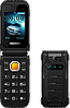 HODOO X7, 2800 мАч, 2 SIM, FM, MP3, 3D звук, громкий динамик, противоударный телефон-раскладушка