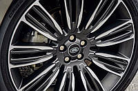 "22"" оригинальные колеса на Range Rover Velar, style 9007"