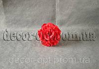 Шар из головок красной розы в бутоне 14 см