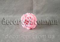 Шар из головок розовой розы в бутоне 14 см