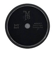 Мeguiar's WRFF7 Rotary Foam Finishing Pad Роторный поролоновый круг мягкий черный, 17,8 см., фото 1